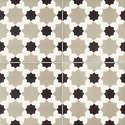 8 x 8 Reverie 4 Decorative Rectified Porcelain tile