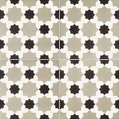 8 x 8 Reverie 4 Decorative Rectified Porcelain tile