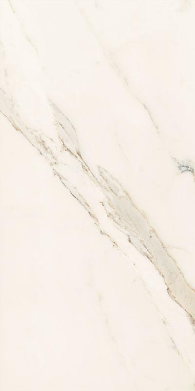 24 x 48 Estatuario Gold high polished marble look porcelain tile
