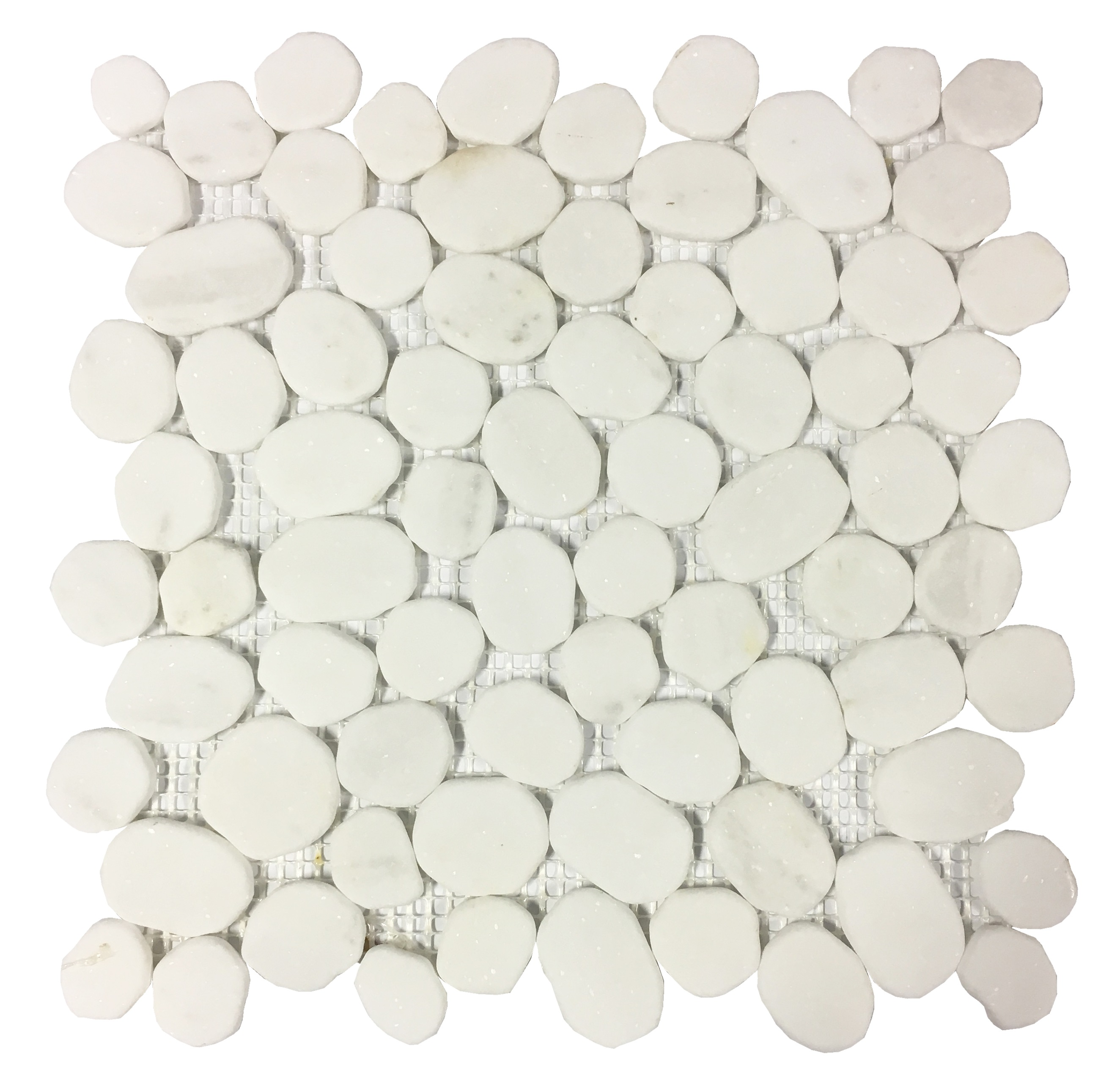 IMSO RIVER WHITE MARBLE PEBBLES