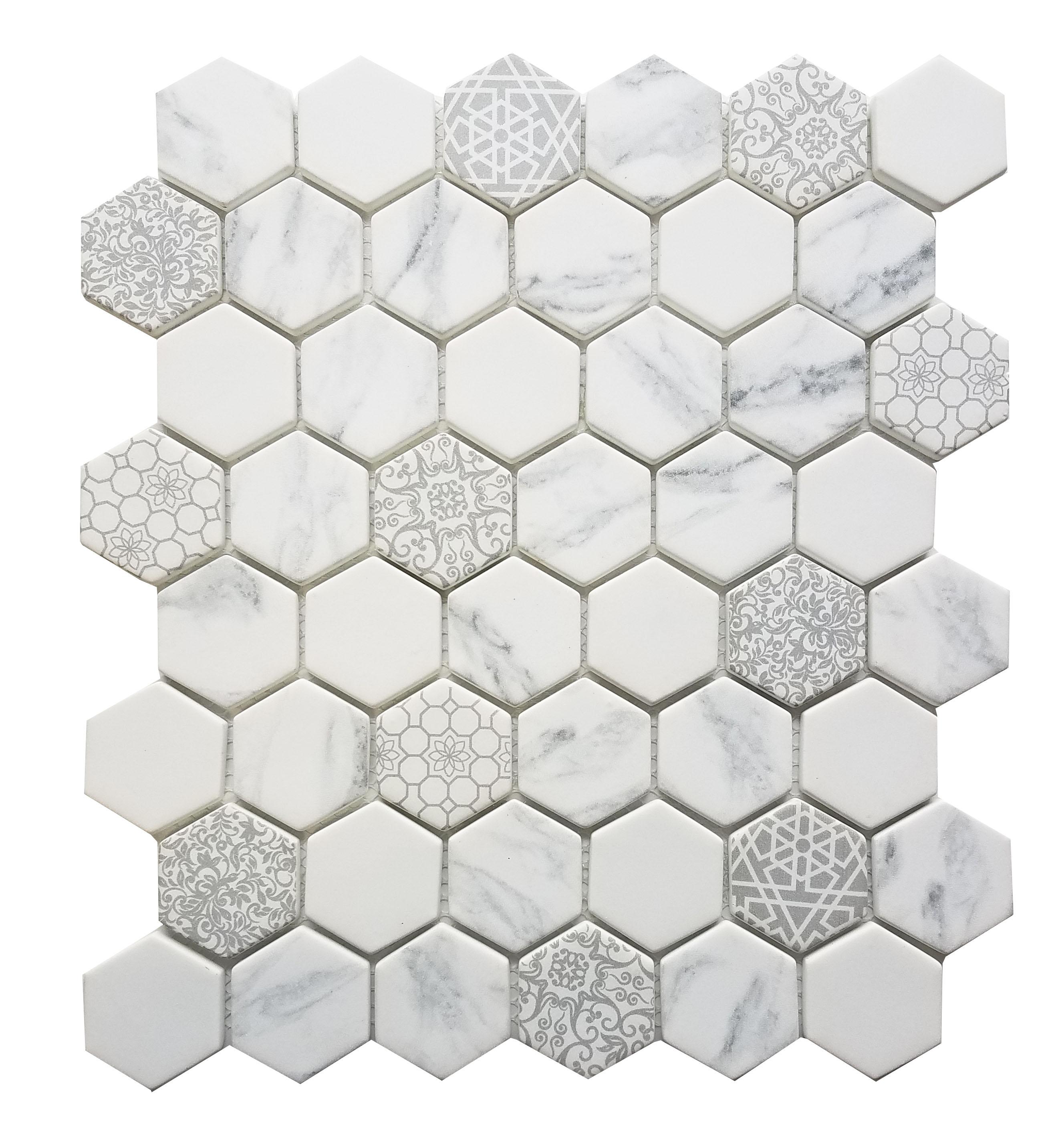 MA100-HX  2 x 2 Hexagon High density recycle glass