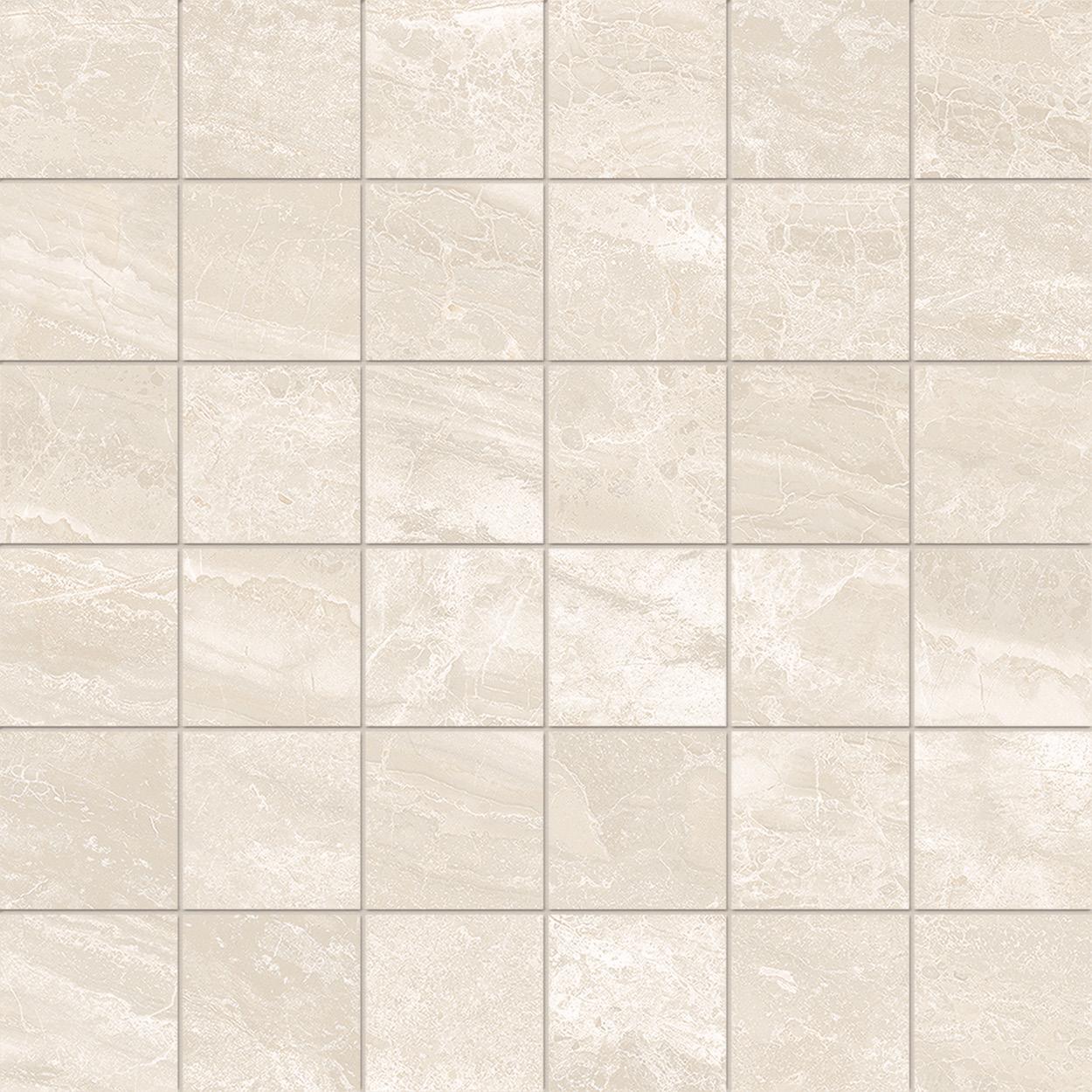 2 x 2 Cosmic Ivory POLISHED porcelain mosaic