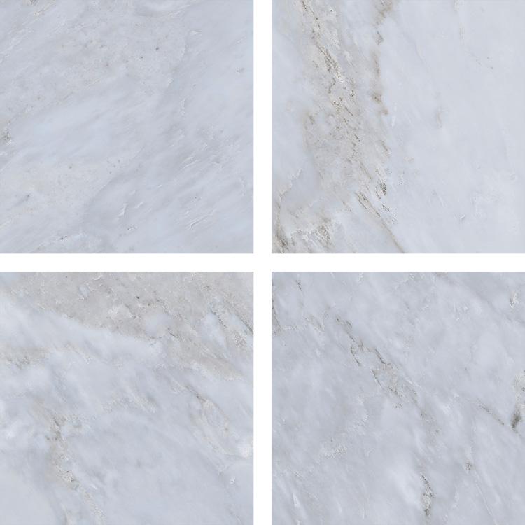 6.5 X 6.5 Velvet Gris porcelain tile