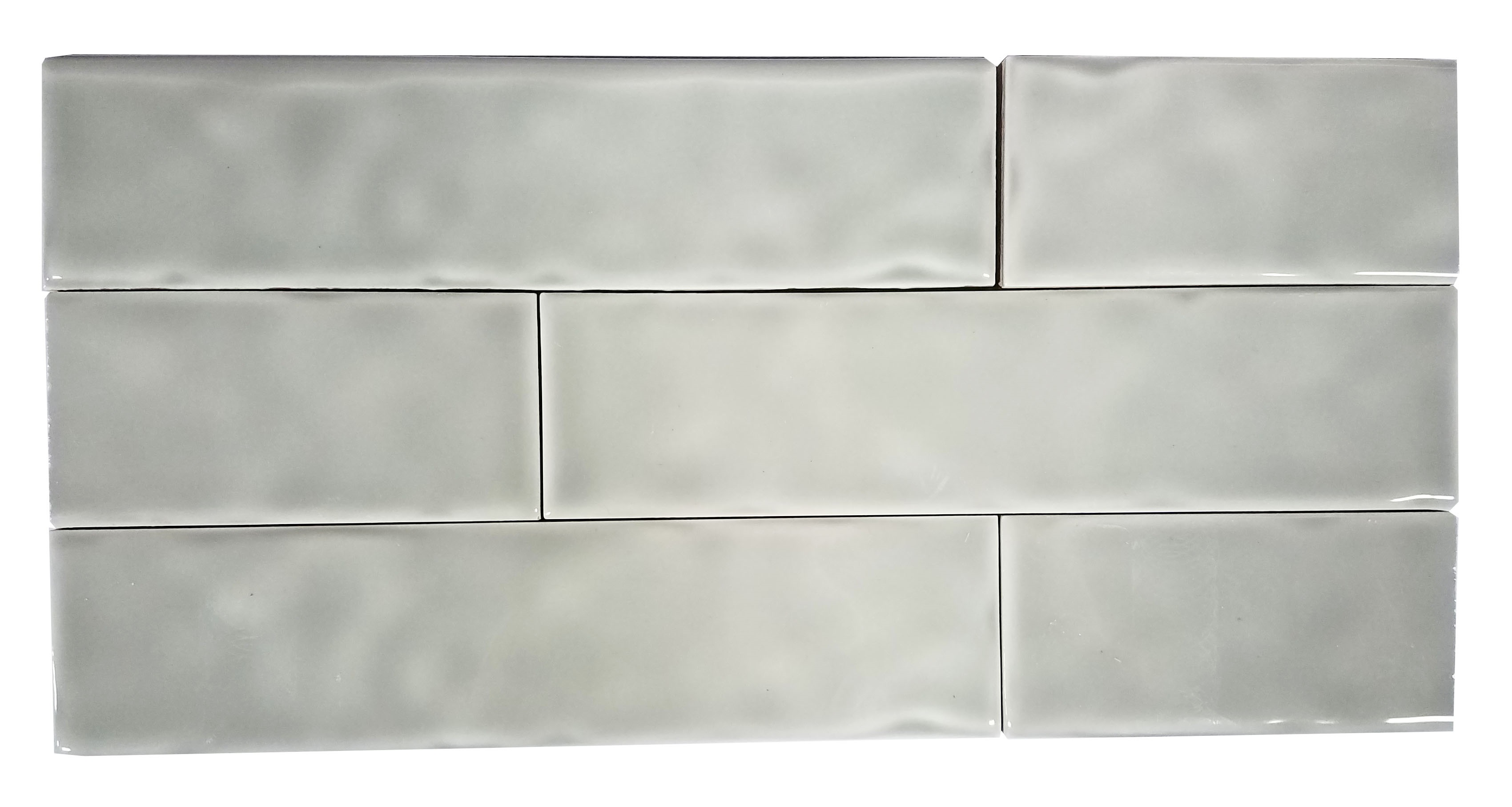 2 x 8 Chelsea Cement Ceramic Wall subway