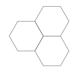 4 x 4 Evo Stone Natural Honed finished porcelain hexagon