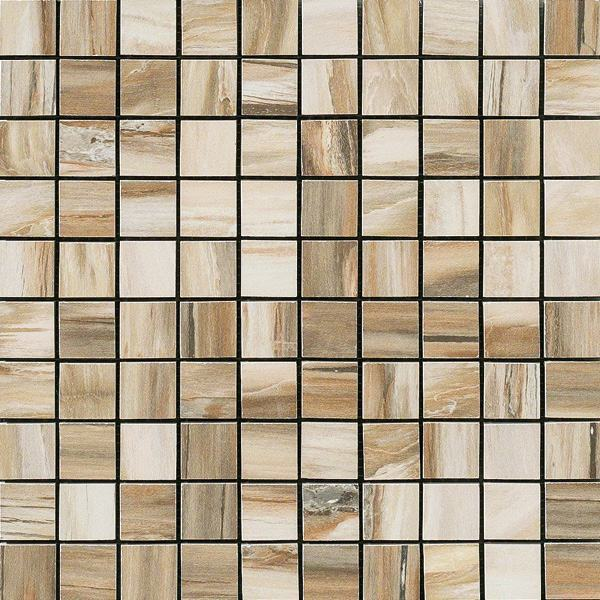 1 x 1 Timeless Amber  Natural mosaic