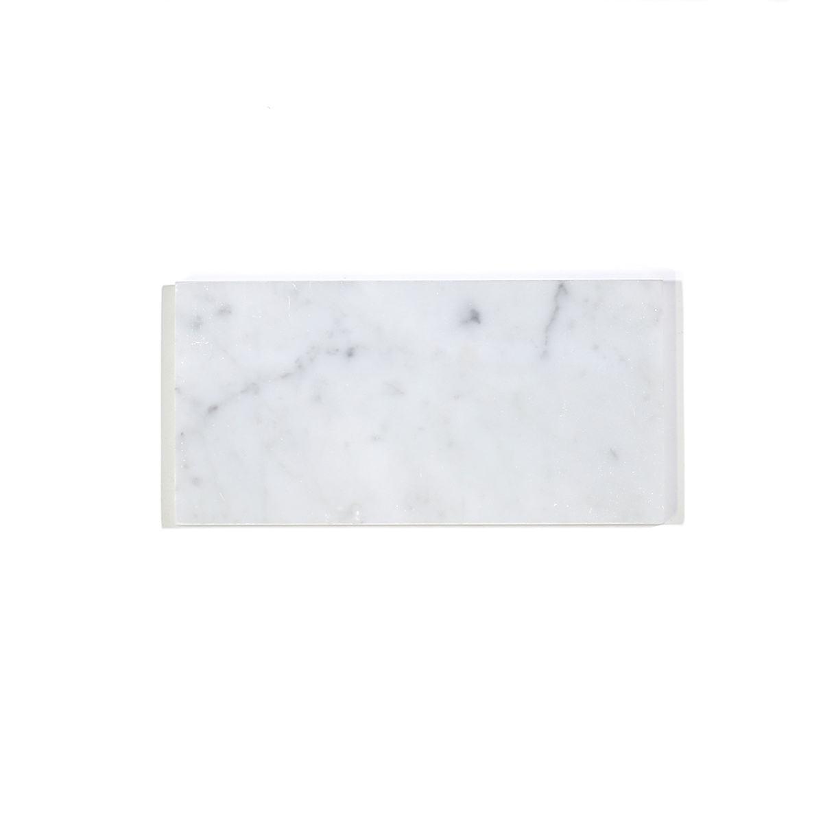 MA340-WCP  3 x 6 White Carrara POLISHED