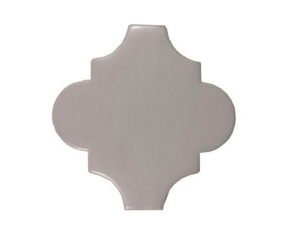 4 x 4 Provenzal Gris Plain Porcelain