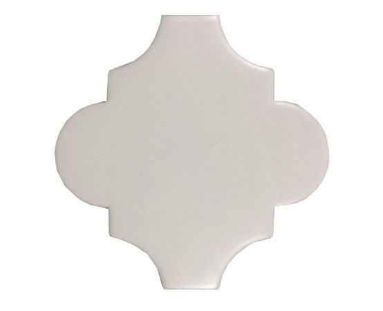 4 x 4 Provenzal Blanco  Plain Porcelain