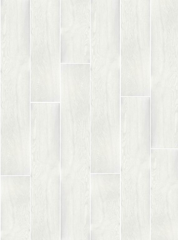 8 x 48 Candlewood Blanco Polished Wood Look Rectified Porcelain Tile