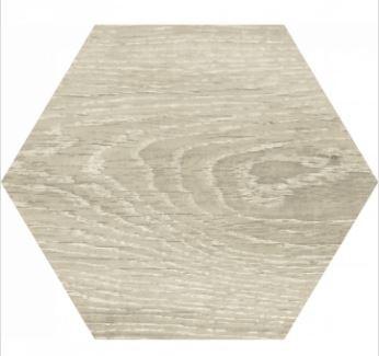 9 x 9 Yosemite Fresno wood look porcelain hexagon
